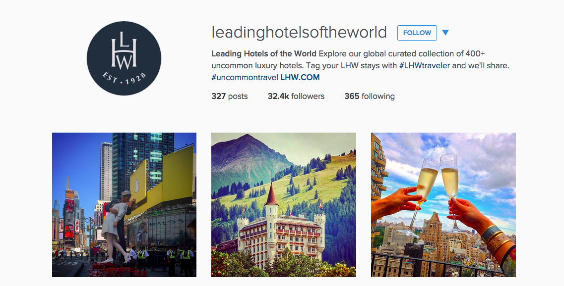13 travel instagram accounts to follow for inspiration for The finest hotels of the world